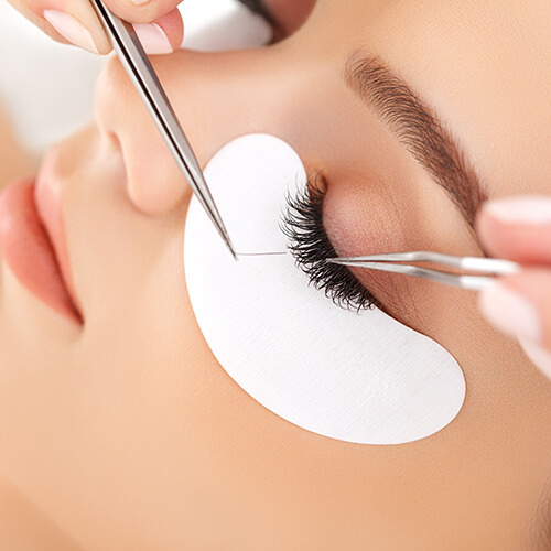 Professionally Done Eyelash Extensions